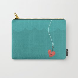 Fishing=Love Carry-All Pouch
