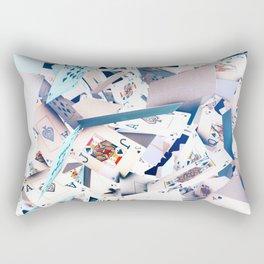 Flying playing cards Rectangular Pillow