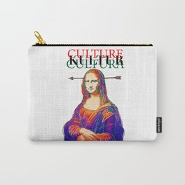 Mona Lisa, Retro, Pop Carry-All Pouch