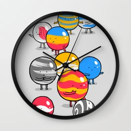 The Lost Marbles Wall Clock
