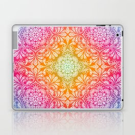 rainbow aura mandala Laptop & iPad Skin