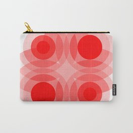 Red Interference Carry-All Pouch