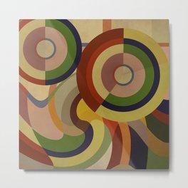 Sonia Circles FIVE Metal Print