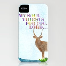 My Soul Thirsts Slim Case iPhone (4, 4s)