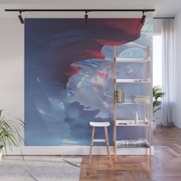 Below the cold surface Wall Mural