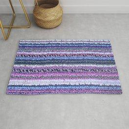 Lilac Blue Carpet Rug