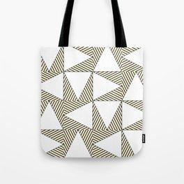 Audrey and Frank - Modern Envelopes (Neutral) Tote Bag