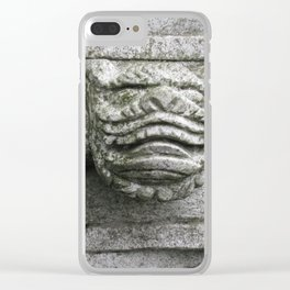 Little Stone Monster Clear iPhone Case