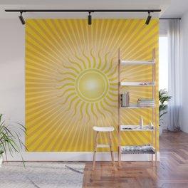Golden Sunshine Wall Mural