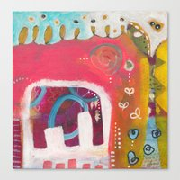 india Canvas Prints featuring India by Joana Carvalho