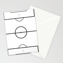 Soccer Field Stationery Cards