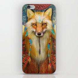 Wise Fox iPhone Skin