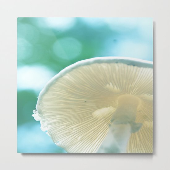 A Bug's Beach Umbrella Metal Print