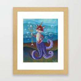 Octocat Framed Art Print