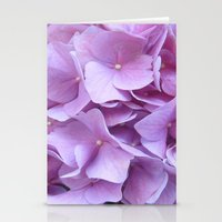 hydrangea Stationery Cards featuring Hydrangea by lillianhibiscus