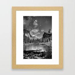 Merced River Under El Capitan, Yosemite Valley, October 2010 Framed Art Print