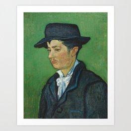 Portrait of Armand Roulin by Vincent van Gogh Art Print