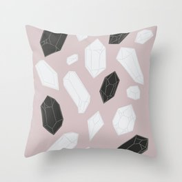 Crystal Myth Throw Pillow