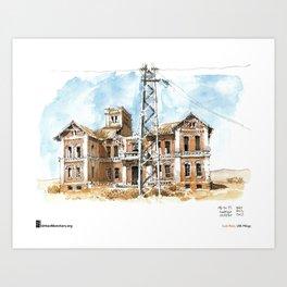 "Luis Ruiz, ""Málaga, Ruined"" Art Print"