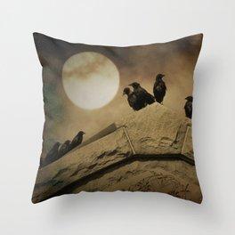 Meeting Of The Minds Throw Pillow
