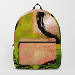 Enso No.MM13I by Kathy Morton Stanion Backpack