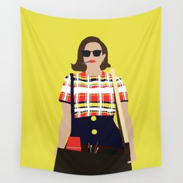 Peggy Olson Mad Men Wall Tapestry