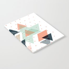 Midcentury geometric abstract nr 011 Notebook