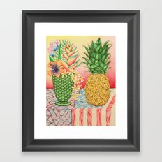 Still Life during an Election Year Framed Art Print