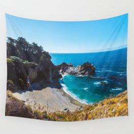 McWay Falls, Big Sur, California Wall Tapestry