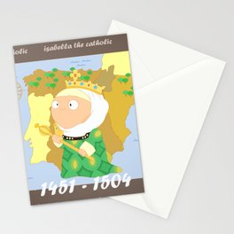 Isabella I of Castile Stationery Cards