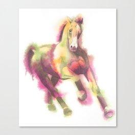 Cantering Horse Canvas Print