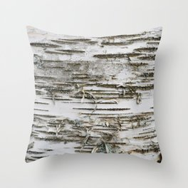 Birch Tree 2 Throw Pillow