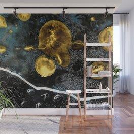 gold dark matter Wall Mural