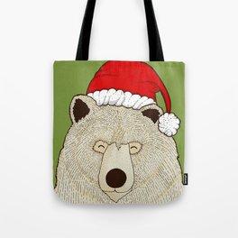 Xmas Bear Tote Bag