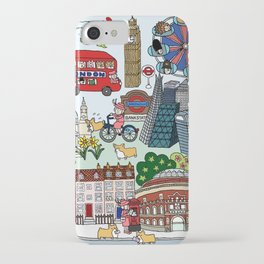 The Queen's London Day Out iPhone Case
