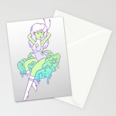 spacegirls are easy Stationery Cards