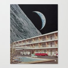 The Edge Motel Canvas Print