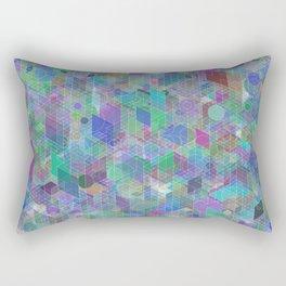 Panelscape + circles - #2 society6 custom generation Rectangular Pillow