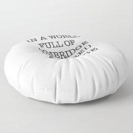 jk rowling Floor Pillow