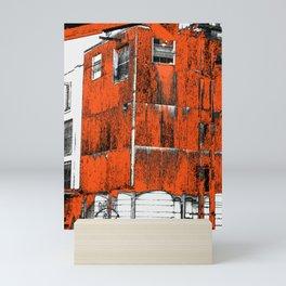 Jack Grain mill - Daniel's No. 7 whiskey distillery - modern photography art print - mod rustic Mini Art Print