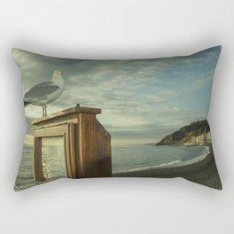 Aberystwyth Shitehawk Rectangular Pillow