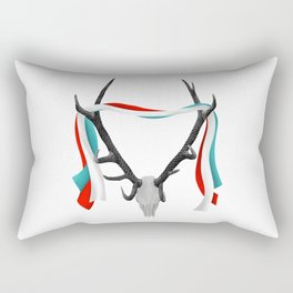 Stag Antlers Rectangular Pillow