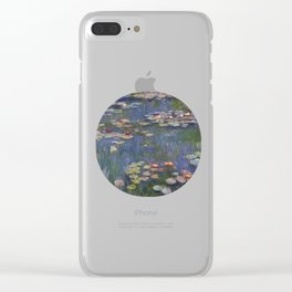 Water Lilies (Nymphéas), c.1916 Art, Monet Clear iPhone Case