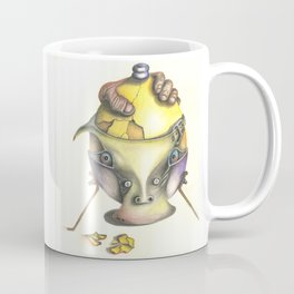 Egg Face Coffee Mug