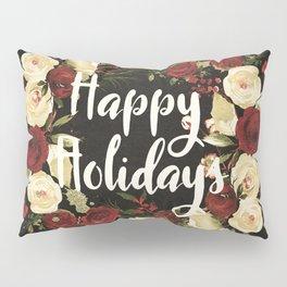 Happy Holidays 4 Pillow Sham