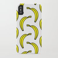 banana iPhone & iPod Cases featuring BANANA by Clove