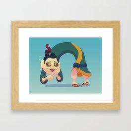 Ben Tover Framed Art Print