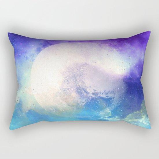 Silver Mirror Rectangular Pillow