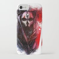 darth iPhone & iPod Cases featuring Darth Nihilus by Vincent Vernacatola