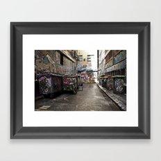 Hosier Lane Framed Art Print